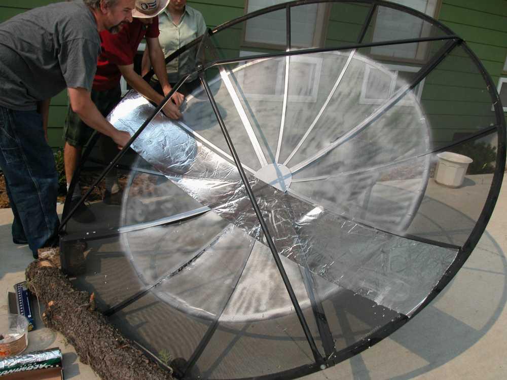 Satellite Dish Cooker